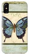 Butterfly Trio-3 IPhone Case