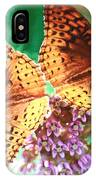 Butterfly Twins IPhone Case