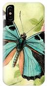 Butterfly Visions-b IPhone Case