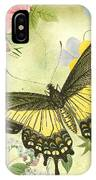 Butterfly Visions-d IPhone Case