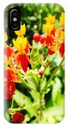 Butterfly Weed 2 IPhone Case