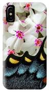 Butterfly Wing And Phlox IPhone Case