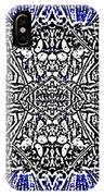 Butterfly Wings Art Nouveau  Double Mirror Image Compressed  IPhone Case