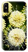 Buttonbush IPhone Case