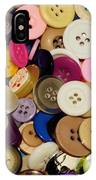 Buttons 671 IPhone Case