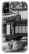 Buyongjeong Pavilion In Secret Garden IPhone Case