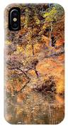 By The Bank Of The Golden Forest IPhone Case