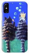 By The Light Of The Silvery Moon IPhone Case