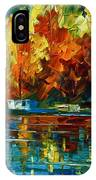 By The Rivershore IPhone Case