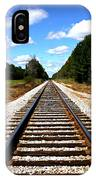 Never Ending Tracks IPhone Case