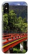 Byodo-in-temple IPhone Case
