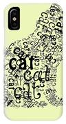 C Is For Cat IPhone Case