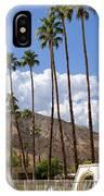 Cabanas Palm Springs IPhone Case