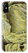Cabbage Still Life IPhone Case