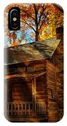 Cabin At The Cove IPhone Case