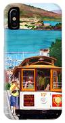Cable Car No. 17 IPhone Case