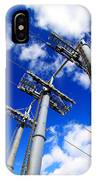 Cable Car Pillars IPhone Case