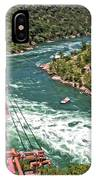 Cable Car Whitewater IPhone Case