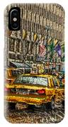 Cabs In The Canyons IPhone Case