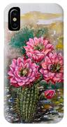 Cactus Blossom IPhone Case