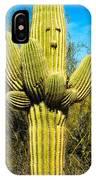 Cactus Face IPhone Case