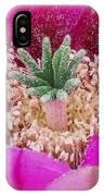 Cactus Flower 3 IPhone Case