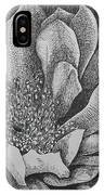 Cactus Flower IPhone Case