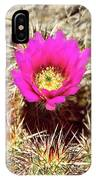 Cactus Flower Palm Springs IPhone Case