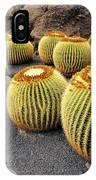 Cactus Garden On Lanzarote IPhone Case
