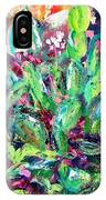 Christmas Cactus Joy IPhone Case