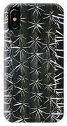 Cactus Spines IPhone Case