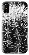 Cactus Thorn Pattern IPhone Case