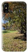 Cades Cove House And Fall Colors IPhone Case