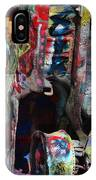 Cadillac Ranch Abstract IPhone X Case