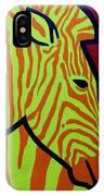 Cadmium Zebra IPhone Case