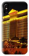 Caesars Palace At Night IPhone Case