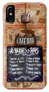 Cafe Bar IPhone Case