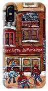 Cafe Bistro La Marinara IPhone Case