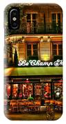 Cafe Le Champ Mars  IPhone Case