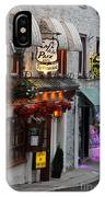 Cafe De La Paix IPhone Case