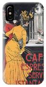Cafe Espresso IPhone Case