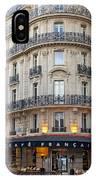 Cafe Francais IPhone Case