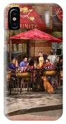 Cafe - Hoboken Nj - Cafe Trinity  IPhone Case