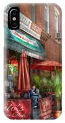 Cafe - Hoboken Nj - Vito's Italian Deli  IPhone Case