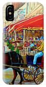 Cafe La Grande Terrasse IPhone Case