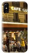 Cafe Luna IPhone Case