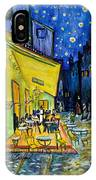 Cafe Terrace At Night IPhone X Case