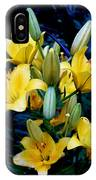 Caged Lilies IPhone Case