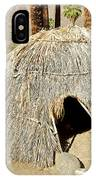 Cahuilla Indian Dwelling In Andreas Canyon In Indian Canyons-ca IPhone Case