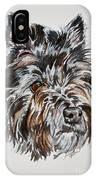 Cairn Terrier Martha IPhone Case